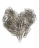 Heart of Clips Royalty Free Stock Photos