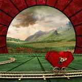 Heart-clockwork Royalty Free Stock Photo