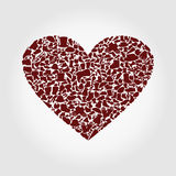 Heart clothes Royalty Free Stock Images