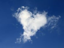 Heart Cloud Royalty Free Stock Photo