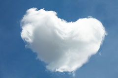 Heart cloud Royalty Free Stock Images