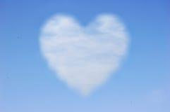 Heart cloud Royalty Free Stock Photos