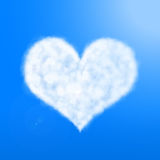 Heart of cloud Royalty Free Stock Image