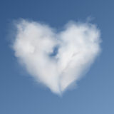 Heart Cloud Royalty Free Stock Photography