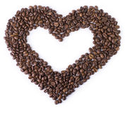 Heart of the coffee Royalty Free Stock Image