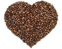 Heart of coffee Royalty Free Stock Image