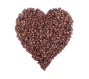 Heart Of Coffee Stock Photo