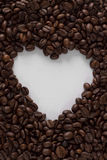 Heart Coffee Stock Photo