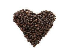 Free Heart, Coffee Beans Stock Photography - 9728622