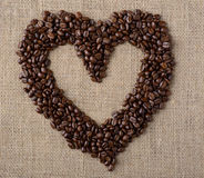 Heart of the coffee Royalty Free Stock Photo