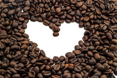 Heart Coffee Royalty Free Stock Photography