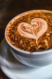 Heart Coffee Stock Images