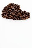 Heart of coffee Stock Photography