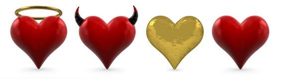 Heart collection Stock Photos