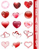 Heart collection Stock Photography