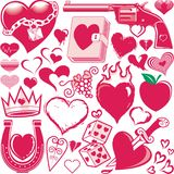 Heart Collection Stock Images