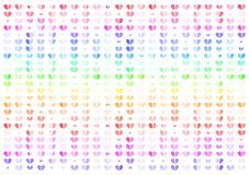 Heart, colorful abstract background vector illustration, Valentines concept vector illustration