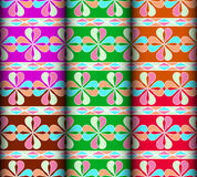 Heart colorful pattern Royalty Free Stock Images