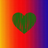Heart of colors Royalty Free Stock Images