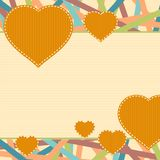 Heart concept background Royalty Free Stock Image