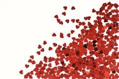 Heart confetti Royalty Free Stock Photo