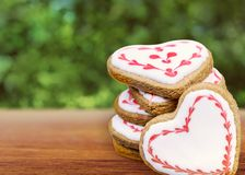 Heart coockies Stock Photo