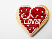 Heart cookie Stock Image
