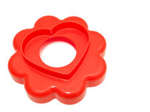 Heart Cookie Cutter. Stock Photo