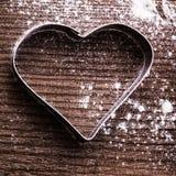 Heart cookie cutter Stock Photos