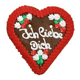 Heart cookie from Germany Stock Image