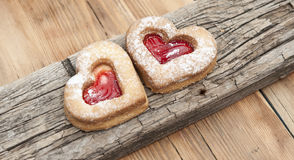 Heart of the cookie Royalty Free Stock Images