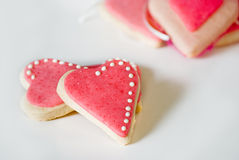 Heart cookies Royalty Free Stock Photos
