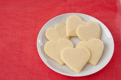 Heart Cookies Stock Photos