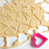 Heart cookies Stock Photography