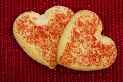 Heart Cookies Stock Photo