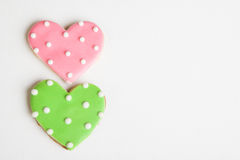 Heart Cookies Royalty Free Stock Photo