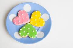 Heart Cookies Stock Photos