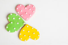Heart Cookies Stock Image