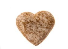 Heart cookies isolated Royalty Free Stock Photo