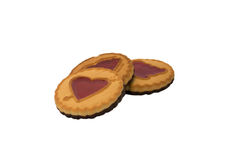 Heart cookies Royalty Free Stock Photography