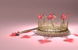 Heart Crown Royalty Free Stock Image