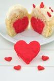 Heart Cupcakes Stock Photo