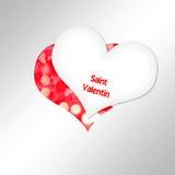 Heart Cut paper Stock Photos