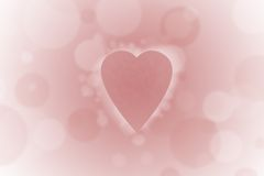 Heart 46. Cute heart for holiday cards Royalty Free Stock Images