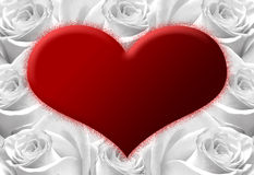Heart D Royalty Free Stock Photos