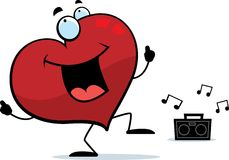 Heart Dancing Royalty Free Stock Images