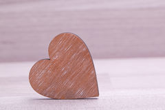 Heart decoratiion for valentines day and wedding Royalty Free Stock Photo