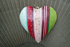 Heart decoration Royalty Free Stock Images