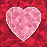 Heart decoration Stock Photo