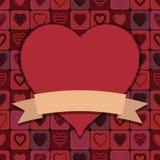 Heart decoration Royalty Free Stock Photos